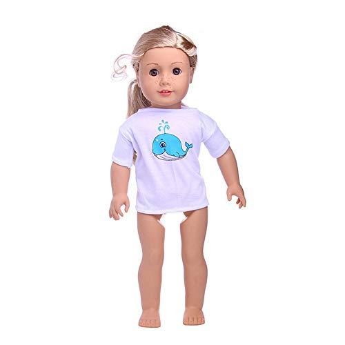 Zolimx Geschenke für Mädchen, Zubehör Set Spielzeug Puppenkleidung For18 Zoll American Dolls Clothes