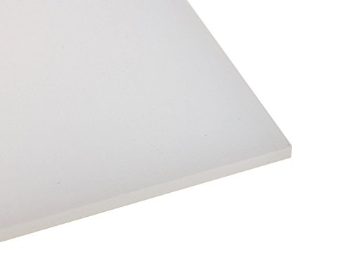 Preisvergleich Produktbild Kunststoffplatte PE-HD 2mm Natur 500 x 300 mm