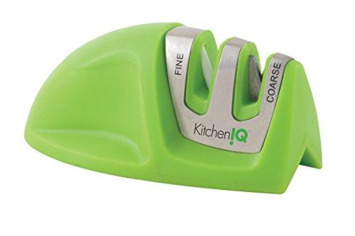 Kitchen IQ Edge Grip Messerschärfer, 2-stufig grün -