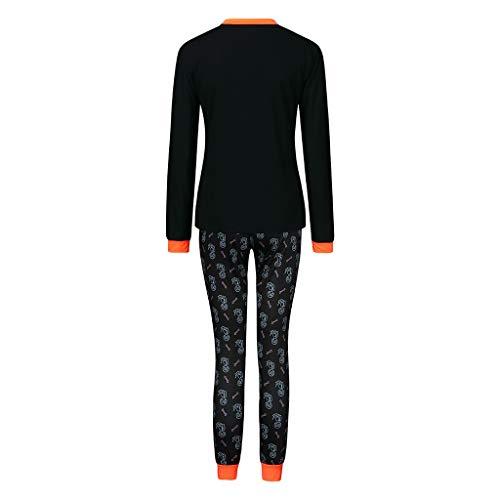 Kostüm Harem Girl Muster - Clacce Kleidung Outfit, Halloween Männer Frauen Damen Kinder Papa Mutter Langarm Brief Drucken Tops + Pants Familie Kleidung Pyjamas Set