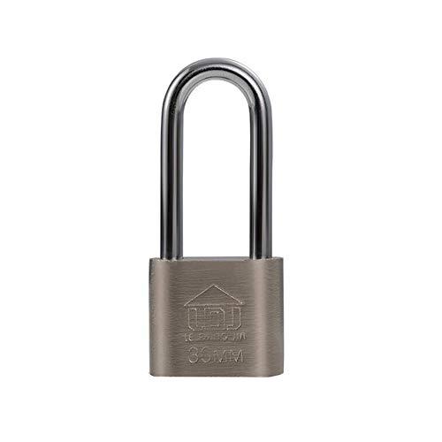Yangwb2000 lucchetto impermeabile e antiruggine, serrature per uso domestico, serrature antifurto, serrature per porte, lucchetti aperti, serrature per dormitori (color : silver1, size : 30mm)
