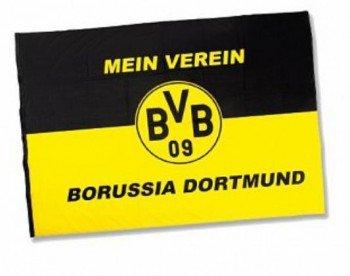 """Hissfahne """"Mein Verein"""" 200 x 150 cm Borussia Dortmund"""