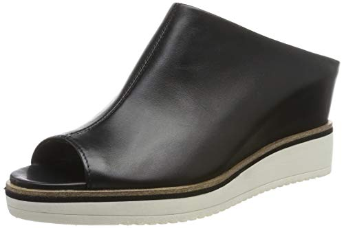 Tamaris Damen 1-1-27200-22 Pantoletten, Schwarz (Black Leather 3), 40 EU