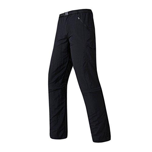 SANKE Men's Quick Drying Cabrio Outdoor Tactical Leichte Cargo Hose - Klettern Nylon Shorts