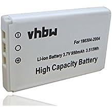 Batteria Li-Ion per LOGITECH diNovo Edge, DiNovo Mini, Y-RAY81 sostituisce 190304-2004, F12440071, M50A 950mAh