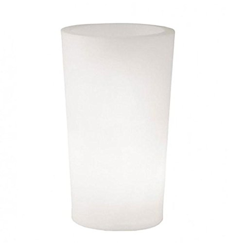 Slide design - Pot de fleurs rond lumineux X-Pot Light ø 98 - H : 135 cm