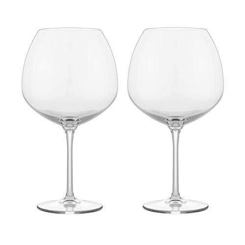 Rosendahl Design Group Premium Rotweinglas 2er Set, transparent 93cl H 23cm Ø 12cm