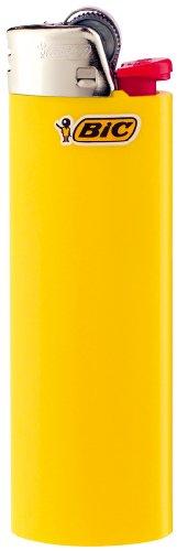 BIC Feuerzeug Reibrad Maxi, neutral, sortiert, 50er Packung, 1er Pack (1 x 50 Stück) - 5