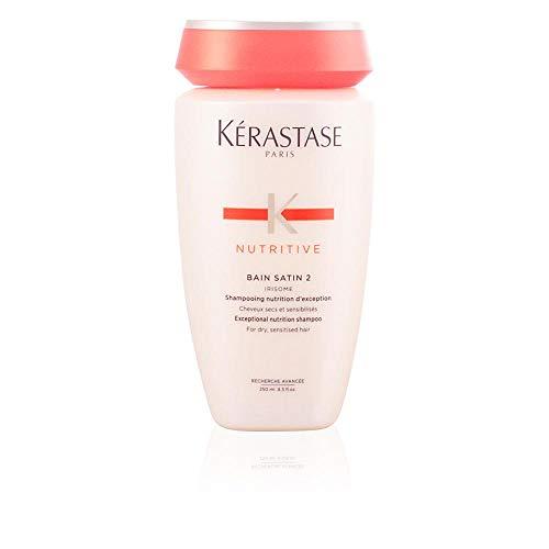 Kerastase NUTRITIVE Bain Satin 2 Shampoo nutrizionale con Irisome per capelli sensibilizzati e secchi 1 x 250 ml