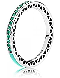 PANDORA - Nudo del anillo del amor de plata chispeante 925/1000 PANDORA 190997CZ - 54