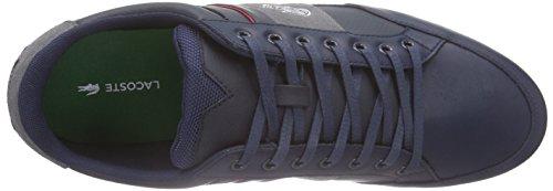 Lacoste Herren Chaymon 216 1 Sneakers Blau (NVY/LT GRY 8T5)