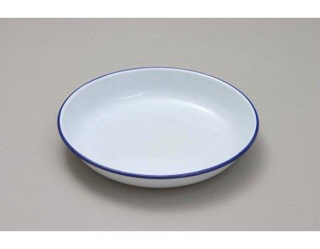 Genware 45624smalto riso/Pasta Piatto,