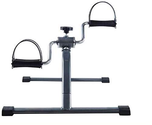 HUJPI Faltbar Minifahrrad, Heimtrainer Arm- Und Beintrainer füR Zuhause Und BüRo Übung Fuß Bike Pedal Beintrainer,Black