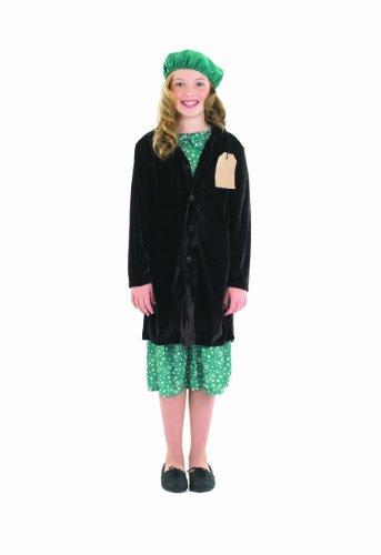 Evacuee Girl with Coat - Kinder Kostüm