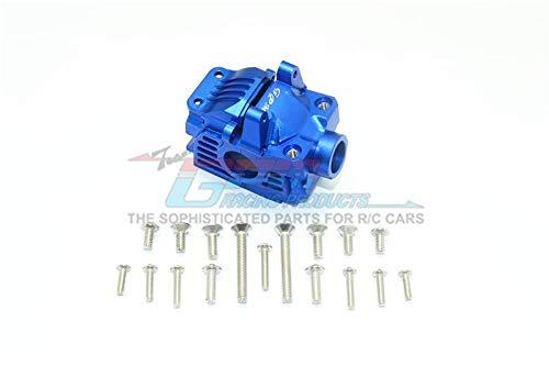 G.P.M. Traxxas Rustler 4X4 VXL (67076-4) Tuning Teile Aluminum Front Gear Box -1 Set Blue (Head Rc Gear)