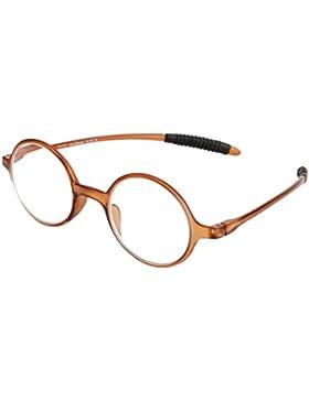 Estuche para gafas plano con cubierta de aluminio y cierre automático en diferentes colores (Small: verde oscuro...