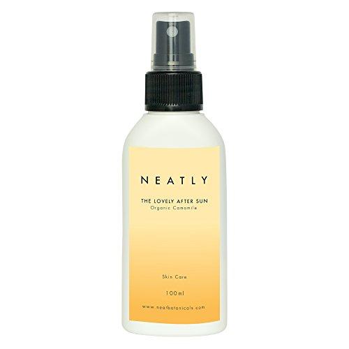 After Sun Spray von NEATLY | 100ml Reines Aloe Vera Gel und Kamillenextrakt & Magnesiumöl | Für empfindliche Haut im Urlaub | BIO & Vegan