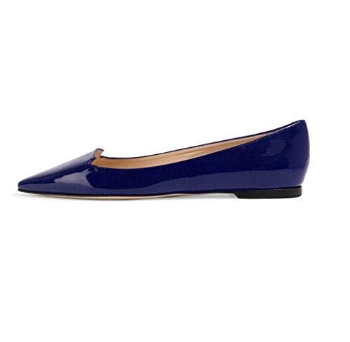 ELASHE - Scarpe da Donna - Ballerine - Ballerine Donna - Classic Flats Blu