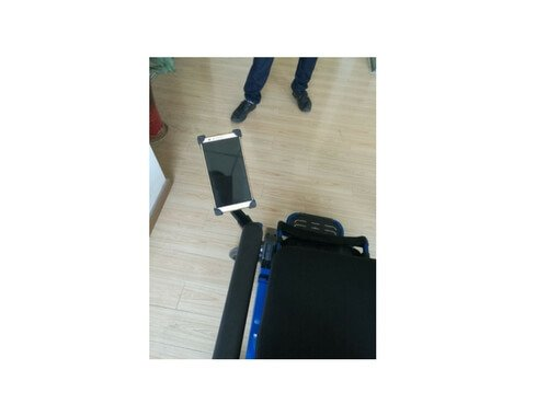 Smart Phone Holder For Electrical Wheel Chair  available at amazon for Rs.1500