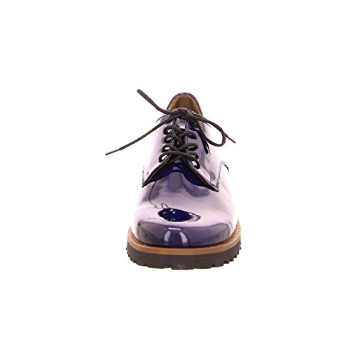 Gabor  51.412.56, Chaussures de ville à lacets pour femme Bleu