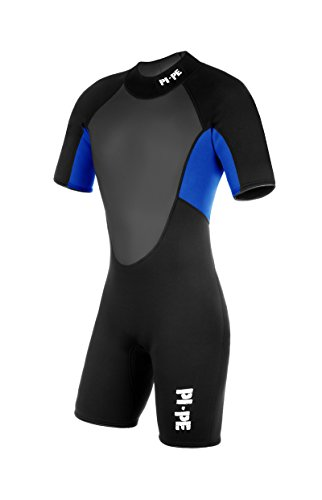 PI-PE Herren Neoprenanzug Pro Spring Short Sleeve Blue, XL
