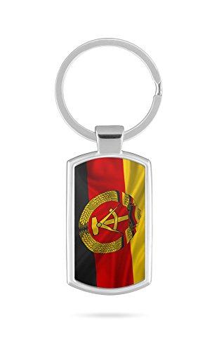 Schlüsselanhänger mit Gravur Wunschtext DDR Deutschland