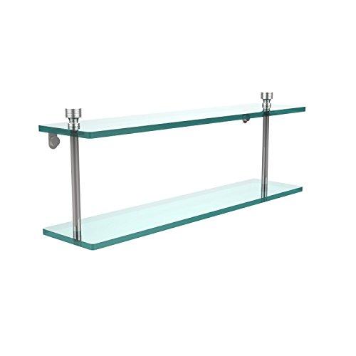 Allied Glass Badezimmer Regal (Allied Brass FT-2/22-PC 22-Inch Double Glass Shelf by Allied Brass)