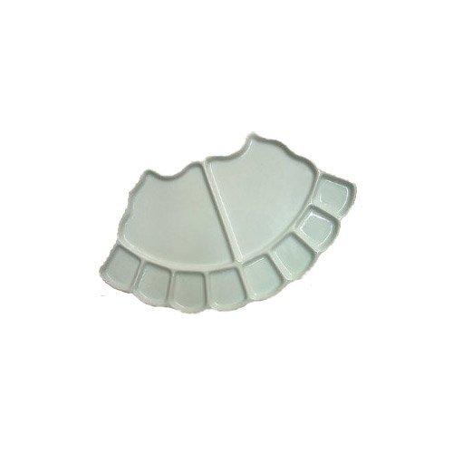 A forma di ventaglio 10 Bene porcellana Palette
