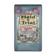 Skinners Field & Test Turkey & Rice Hypoallergen 15kg