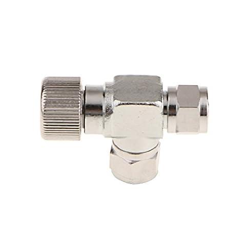 Gazechimp 1 Stück CO2 Einstelventil für Aquarium Rohr CO2-System Ergonomisches Design