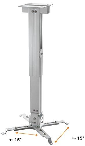 celexon Beamer-Deckenhalterung universal in weiß   Tragkraft bis 25 kg - 4