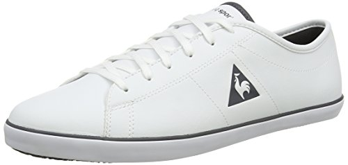 Le Coq Sportif Slimset S, Baskets Basses Homme Blanc (Optical White)