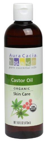 Aura Cacia Skin Care Oil - Organic Castor Oil - 16 Fl Oz, 16 Fluid Ounce by...