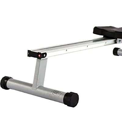 Marcy RM413 Henley Magnetic Foldable Rowing Machine - Silver/Black by Accell Fitness