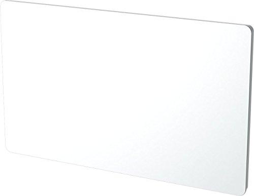 Carrera 051180 Panneaux Rayonnant en Verre Blanc LCD 1500W