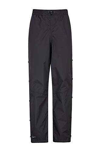 Mountain Warehouse Downpour Wasserdichte Damenhose Überhose Regenschutz Wanderhose outdoor