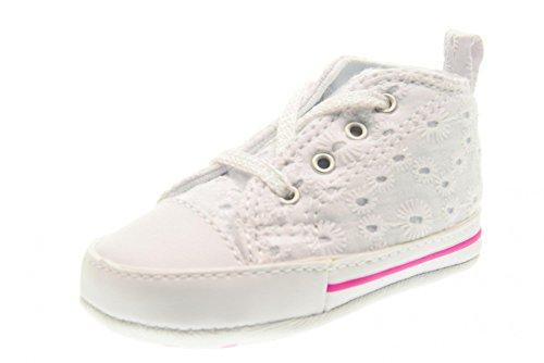 Converse - Converse Ctas First Star Hi Chaussures Fille Blanc Blanc