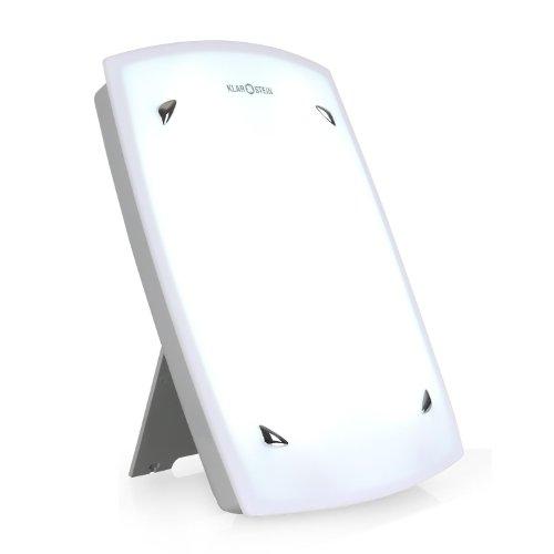 Klarstein–-SAD3Energisante für Wohlbefinden Winter–Dusche Lichterkette Natürliche gegen die Unterdruck saisonniere (10000Lux, 33x 47cm, Moeglichkeit Wandbefestigung)–Weiß