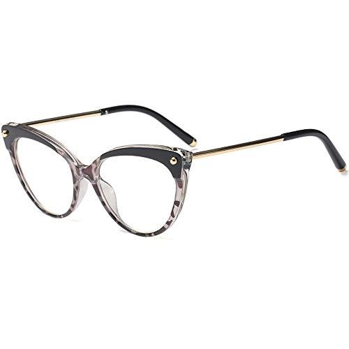 Jahrgang Inspiriert Halbtöner Rahmen Saubere Linse Wanderer Katzenaugen-Gläser Für Frauen