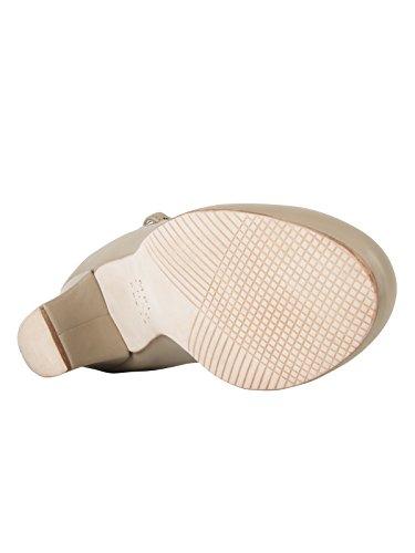 """Só Dança CH50caratteri scarpe con suola in pelle e tacco 1,5""""Latino Salsa Rumba Tango Danza Ballroom pulsante Pin incluso, colore: avorio Tan"""