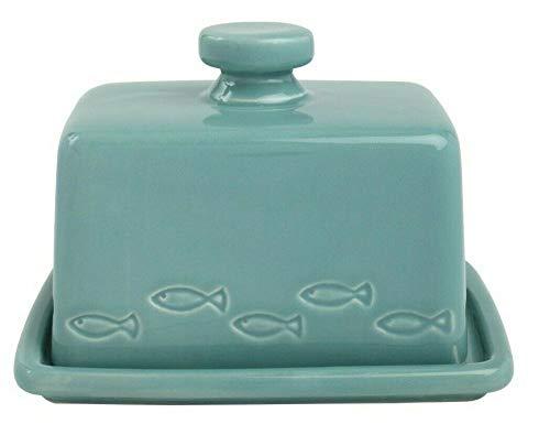 T&G Woodware Ocean Beurrier Margarine Rangement Céramique