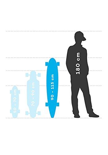 Sector 9 Dropper Longboard Complete Longboard bleu