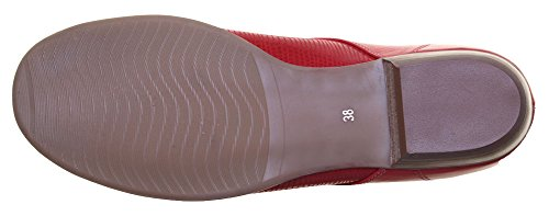 Justin Reece  Alina, Tongs pour femme Red D12