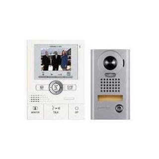Aiphone JKS-1AEDV Audio/Video Intercom Set with Picture Recording for Single Door, Surface-Mount Vandal-Resistant Door Station by Aiphone