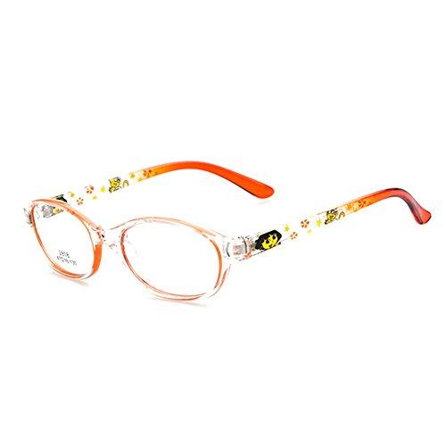 Juleya Kinder Gläser Rahmen - Kinder Brillen Clear Lens Retro Reading Eyewear für Mädchen Jungen 112206
