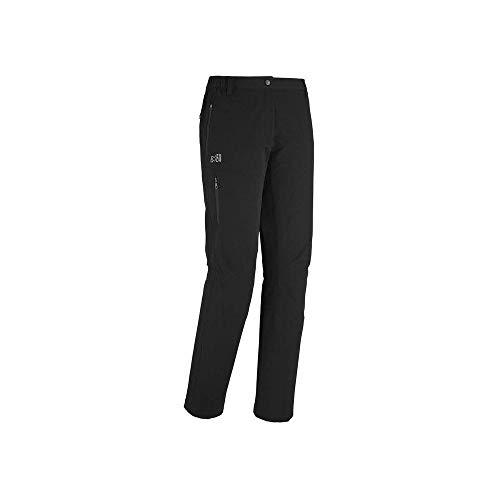 MILLET LD All Outdoor PT Pantalon de randonnée Femme, Noir, 46