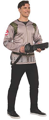 Rubie 's Offizielles Herren Ghostbusters Kostüm Shirt mit aufblasbarer Proton Zauberstab, - Rubie S Kostüm Aufblasbar