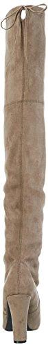 SPM Absolute Overknee Damen Langschaft Stiefel Braun (Taupe)