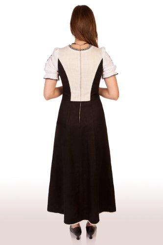 Trachten Landhauskleid - MOLDAU - schwarz, Größe 34
