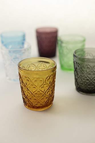 confronta il prezzo Villa D'Este Home Tivoli 2216396 Set Marrakech Bicchieri Acqua, Vetro, 6 Pezzi miglior prezzo